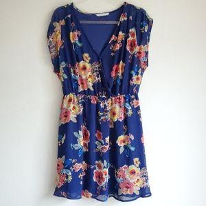 Lush floral dress size M